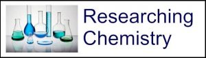 Researching chemistry logo