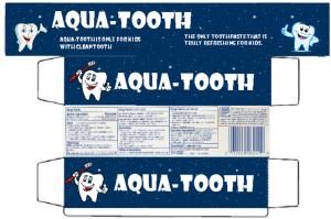 H GC Toothpaste tube