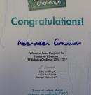 Tomorrows Engineers Robotics Challenge