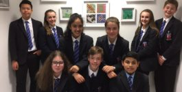 S2 Art Exhibition at Skene Street Dental Practice