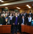 Actress Annie Wallace Visits Pupils